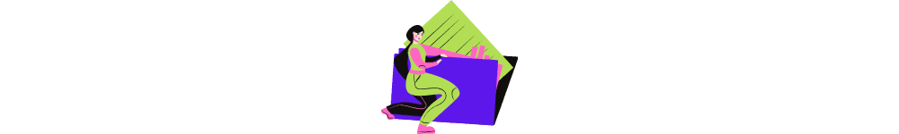 aggregator website meaning. Illustrative image: drawn woman is thecking a folder