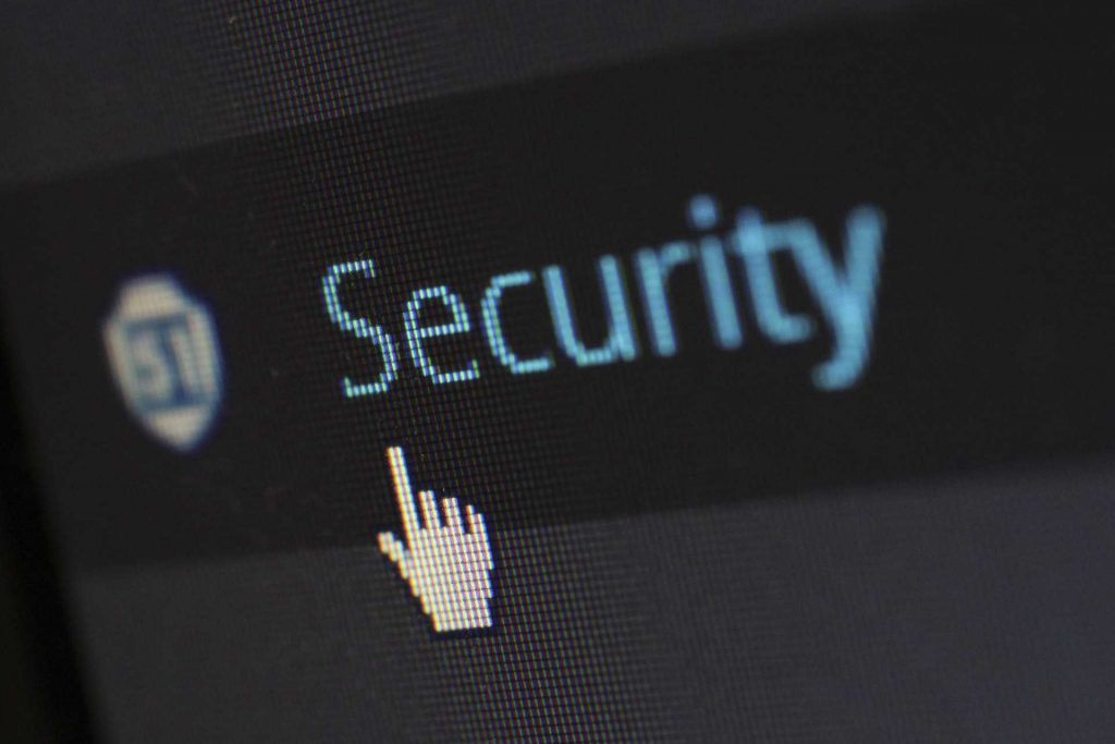 PC protection. Illustrative image